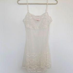 Victoria's secret bridal white nightie xs